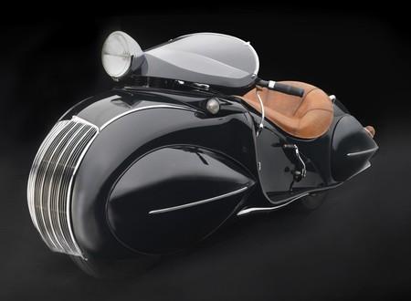 Herdenson KJ streamline Art Decó, la otra obra de arte sobre dos ruedas de 1935