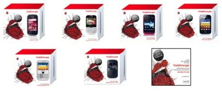 móviles Vodafone yu: