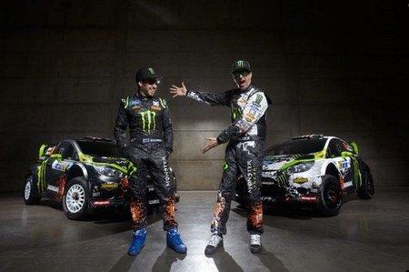 Chris Atkinson preparado para el Rally de México