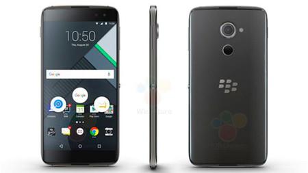 El último móvil TCL nos enseña la BlackBerry DTEK60 antes de tiempo