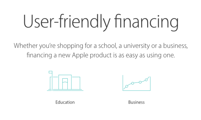 Financiacion Apple