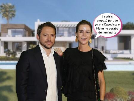 Así queda el reparto del patrimonio de Amelia Bono y Manuel Martos tras su separación: esta preciosa (y gigantesca) casa y multitud de negocios