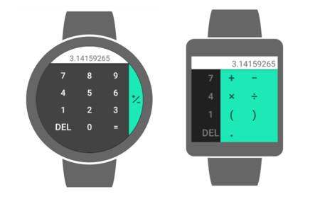 Calculadora Android Wear