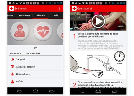 Primeros Auxilios, una aplicación de Cruz Roja Mexicana