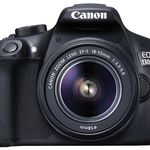 Canon EOS 1300D con objetivo 18-55mm rebajada a 359 euros en Amazon