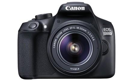 Para dar los primeros pasos en fotografía reflex, la Canon EOS 1300D + 18-55 es perfecta, por sólo 359 euros en Amazon