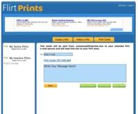 FlirtPrints.com, envía mensajes anónimos a las personas con las que desea contactar
