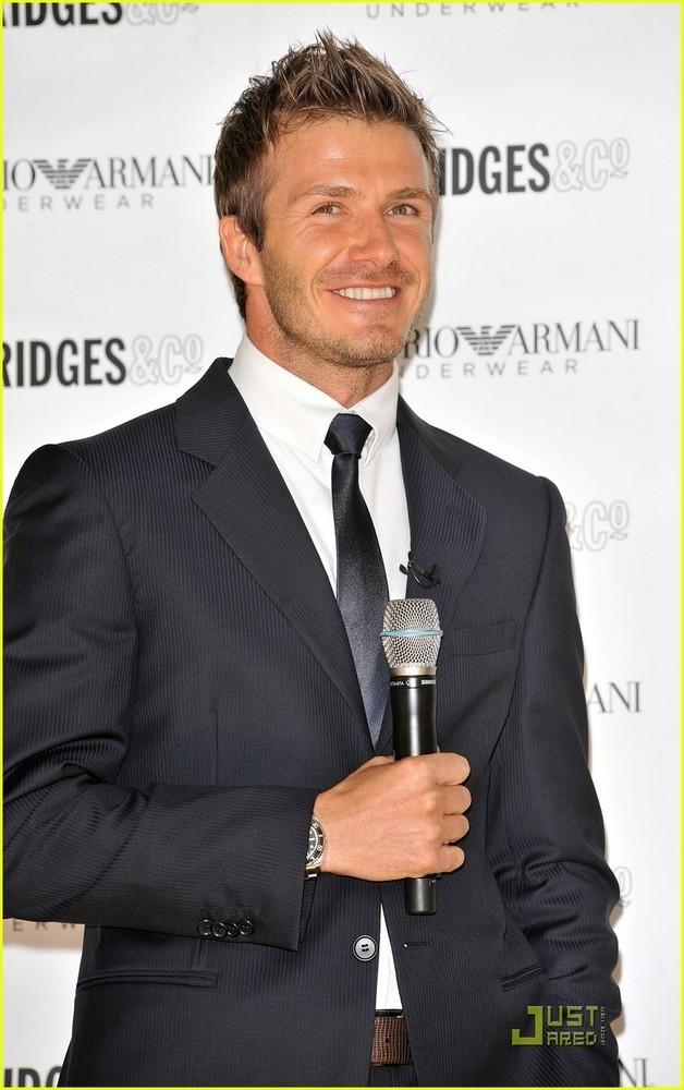 Foto de David Beckham para Armani 2009 (6/7)