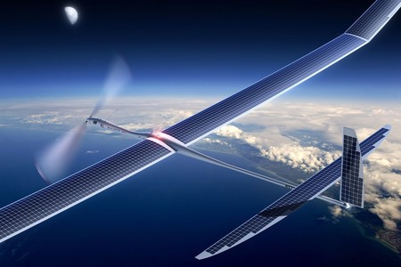 Facebooks Solar Powered Internet Drone
