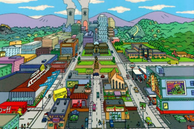 El Springfield de 'Los Simpson' ¡a tamaño real en Los Ángeles!