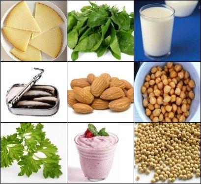 Adivina adivinanza: ¿qué alimento tiene más calcio?