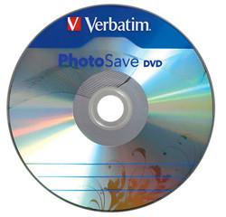 Verbatim Photo Save, dvd's que graban fotos automáticamente