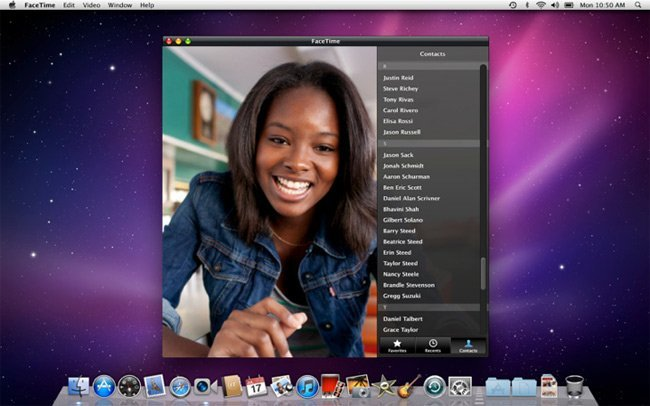 Apple Mac App Store FaceTime