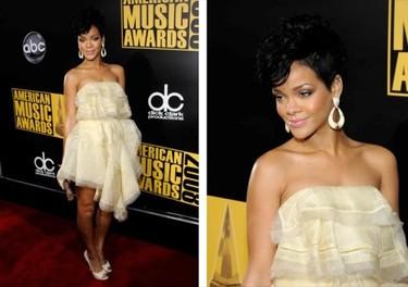 Los premios American Music Awards 2008, música y moda