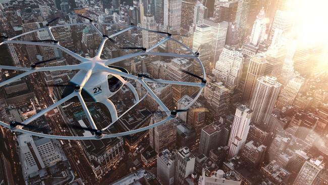 Daimler hace una inversión millonaria en Volocopter para conquistar el mercado de los taxis voladores