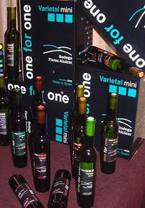 One for One, nuevos vinos Denominación de Origen la Mancha en formato de 25 cl