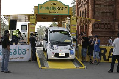 El equipo FEDA ZERO-e brilla en el EcoRallyRACC