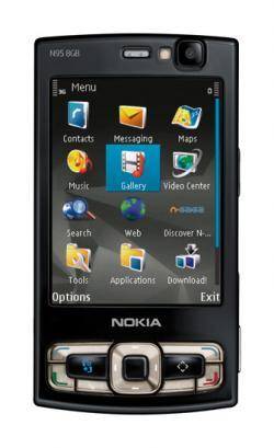 Nokia N95 8 GB con Spiderman 3