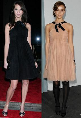 Vestido de Chanel: ¿Christy Turlington o Jessica Alba ?