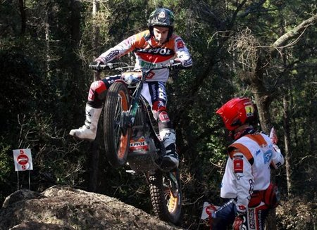 Toni Bou, Campeón de España de Trial 2011 y pleno en el año