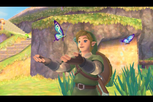 Encuentra todos los bichos en Zelda: Skyward Sword HD