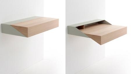 DeskBox, el escritorio mínimo que sale de una balda