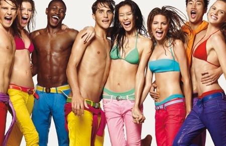 Benetton, colección Primavera-Verano 2009, pantalones