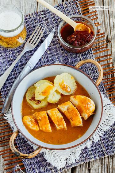 Pechuga de pollo en salsa de chile chipotle: receta