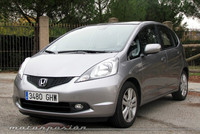 Honda Jazz 1.4 i-VTEC, prueba (parte 1)