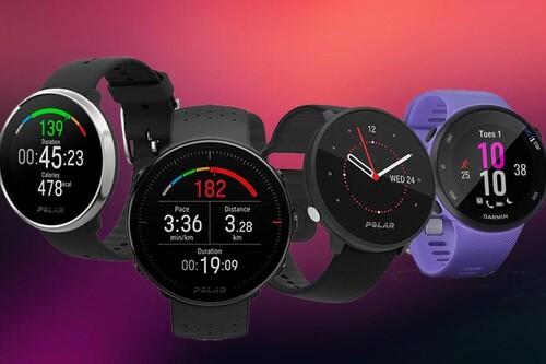 Estos relojes deportivos Garmin y Polar están más baratos en las ofertas de primavera de Amazon