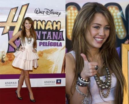 Más looks de Miley Cyrus en su paso por Madrid