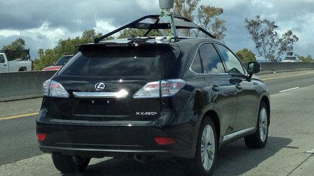 El Lexus RX 450h ya se conduce solo gracias a Google
