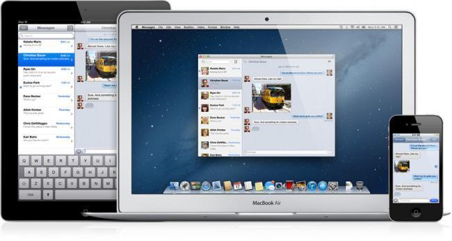 mensajes imessage mac os x apple