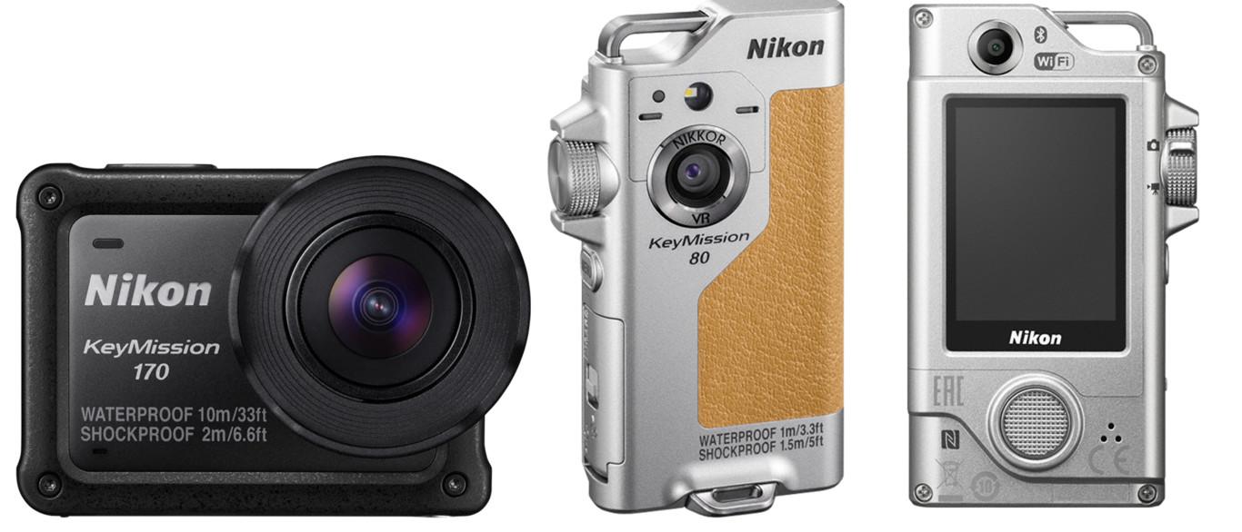 Nikon KeyMission 80 y 170, dos nuevas cámaras de acción presentadas en Photokina 2016