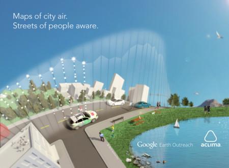 ¿Un mapa de la polución en las ciudades? Los coches de Google están en ello