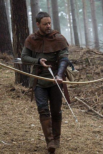 Primera imagen de Russell Crowe como Robin Hood
