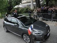 El Citroën DS5 HYbrid entró en el club de las berlinas presidenciales