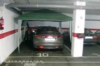 Plataformas para aparcar la moto en garajes
