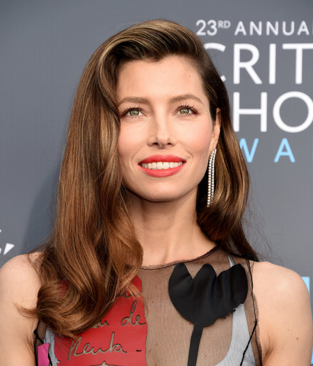 Jessica Biel en los Critics' Choice Awards 2018