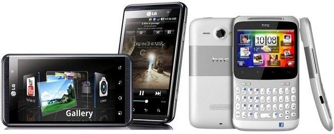 Precios LG optimus 3D y HTC ChaChaCha con Yoigo