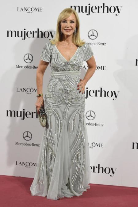 Carmen Lomana en los Premios Mujer Hoy 2014