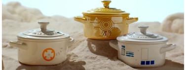 Le Creuset anuncia una nueva colección de cazuelas y fuentes inspirada en Star Wars (y lo queremos todo)