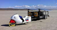 Lightning SuperBike, récord autónomo en El Mirage