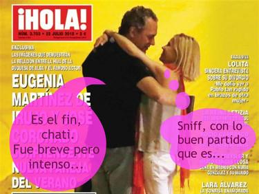 Fue breve para Eugenia y José Coronado y adiós también para Cayetano y Melani Costa