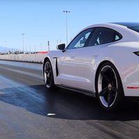 El Porsche Taycan presume su impresionante aceleración en video