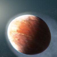 En este planeta recién descubierto los metales pesados fluyen hacia el espacio