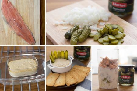 Paté de salmón y pepinillos - 3