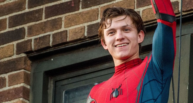 Tom Holland como Spiderman