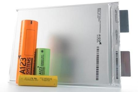Baterías A123