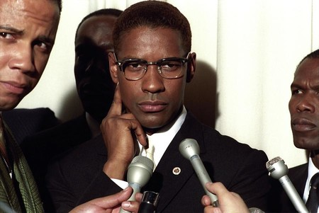 Denzel Washington In Malcolm X 1992 Album